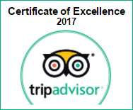 Trip Advisor Certificate of Excellence 2017 Winner - Royal Palms Motor Inn, Coffs Harbour, NSW
