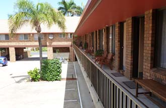 On-site parking is available at Royal Palms Motor Inn - Coffs Harbour NSW.