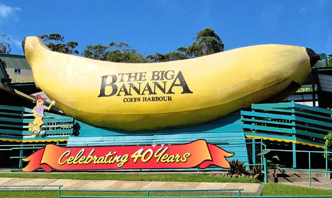 """Big Banana Coffs"" by Stuart Edwards. - Own work. Licensed under CC BY-SA 3.0 via Commons - https://commons.wikimedia.org/wiki/File:Big_Banana_Coffs.jpg#/media/File:Big_Banana_Coffs.jpg"